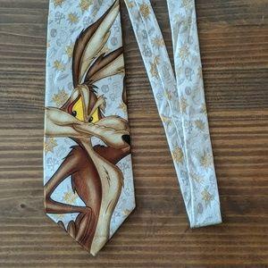 Looney Tunes Wile E. Coyote Tie
